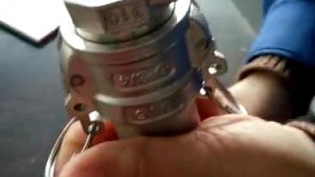 304/316不锈钢D型快速接头