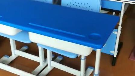 廣東廠家定製塑料升降兒童小學生課桌椅廠家批發發
