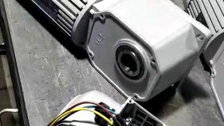 直交轴减速机出厂测试视频