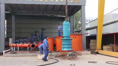 海綿城市建設市政排澇泵站潛水混流泵