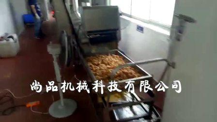 肉条全自动上浆油炸生产线