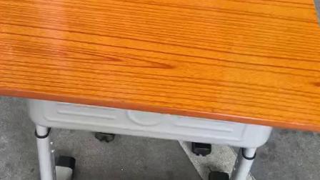 厂家直销善学学校课桌椅,时尚简易辅导班课桌椅