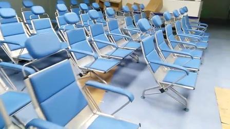 加厚西皮耐用医院门诊输液椅