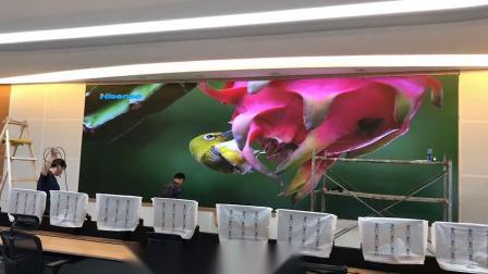 主席台背景LED小间距显示屏