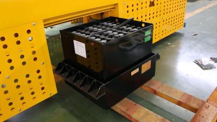 蓄電池電動平車軌道平車電瓶裝卸視頻