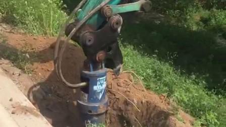 挖掘机螺旋钻机