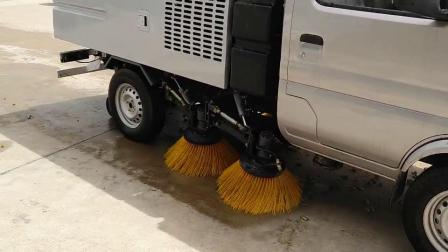 长安小型扫路车工作视频