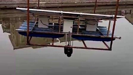 太陽能潛水曝氣機,河道治理增氧機