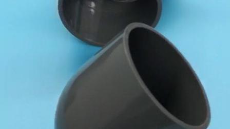 PVC国标给水45度弯头