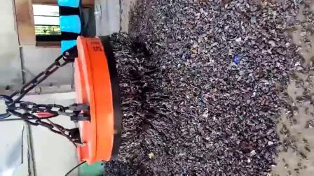 圆型废钢电磁吸盘-起重机电磁铁
