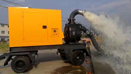 6寸柴油防汛排澇自吸泵 農田灌溉排污泵
