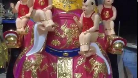 九龙圣母神像