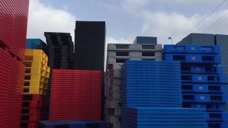 軒盛, 1212九腳吹塑,吹塑托盤,塑料托盤,棧板