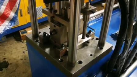 数控全自动冲孔机 全自动管材冲孔机