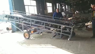 自动送料机 木片装车传送带LJ1有机肥装卸输送机
