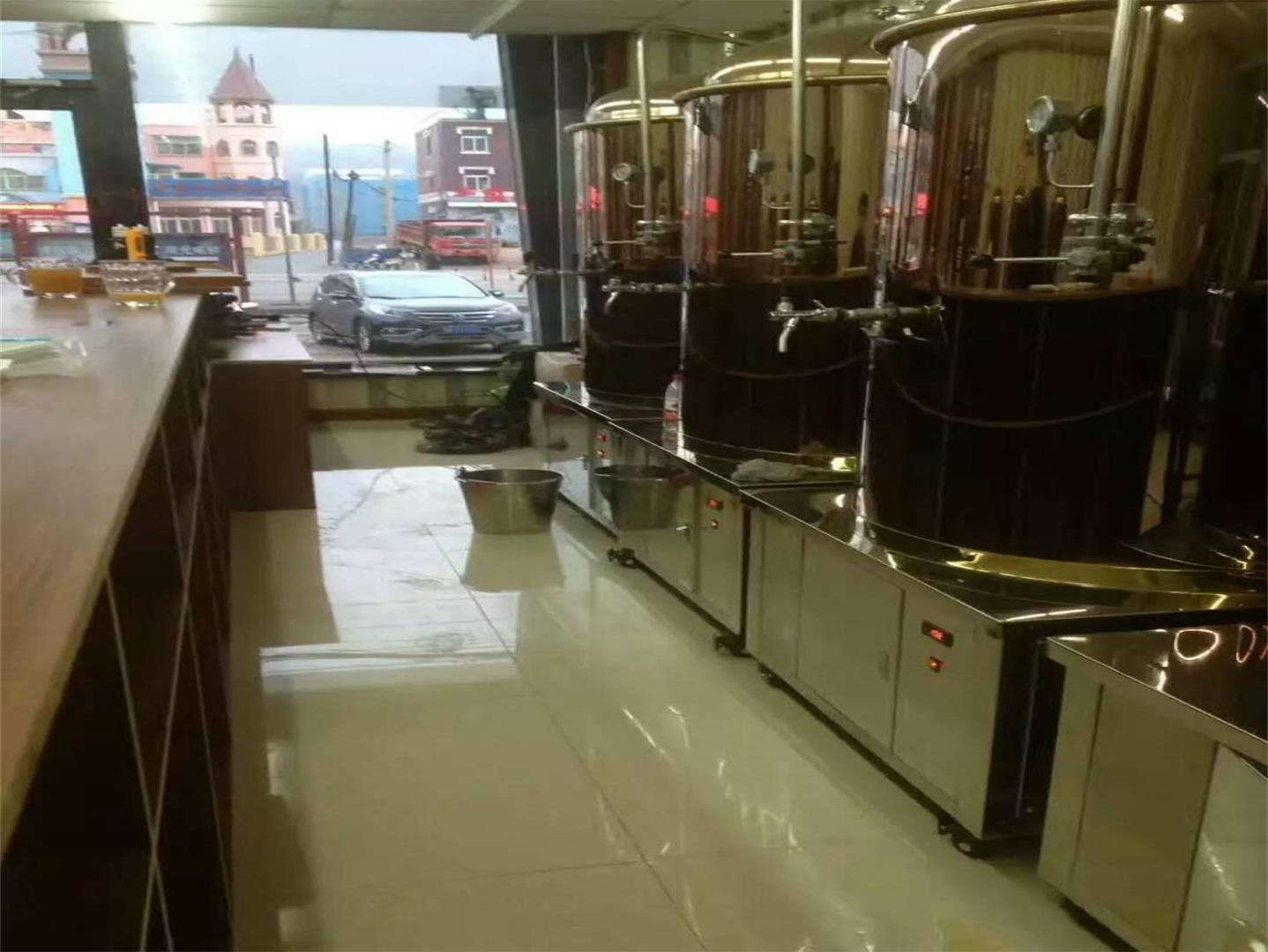 精酿啤酒设备部分简单清洗方式