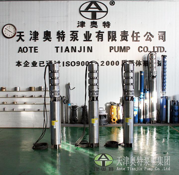 天津奥特泵业不锈钢潜水泵介绍