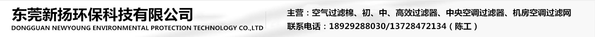 东莞新扬环保科技有限公司
