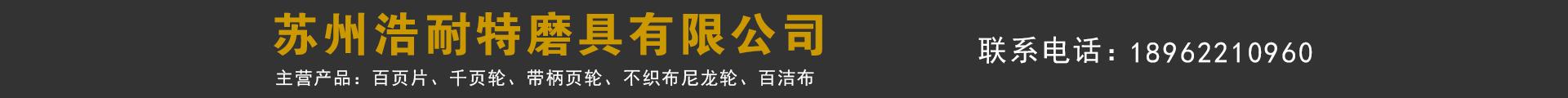 苏州浩耐特磨具有限公司