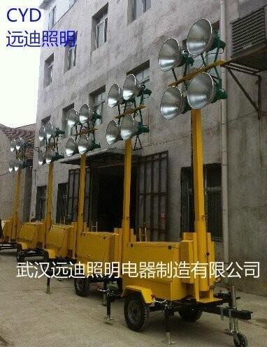 移动升降式照明灯塔安装方法与注意事项
