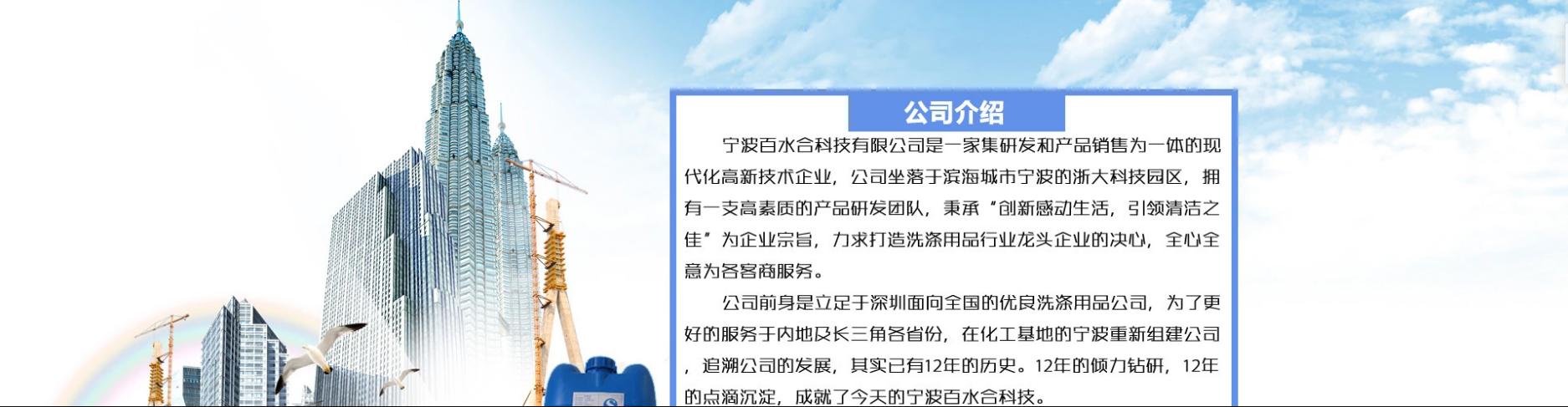 宁波高新区百水合科技有限公司